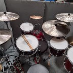 "Basix Custom Series Drumkit mit 12""/14"" Floors"