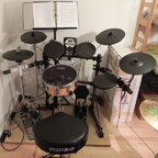 Mein E-Drum-Kit zum leisen Üben