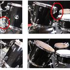 Sonor vs. Pearl Tomhalter